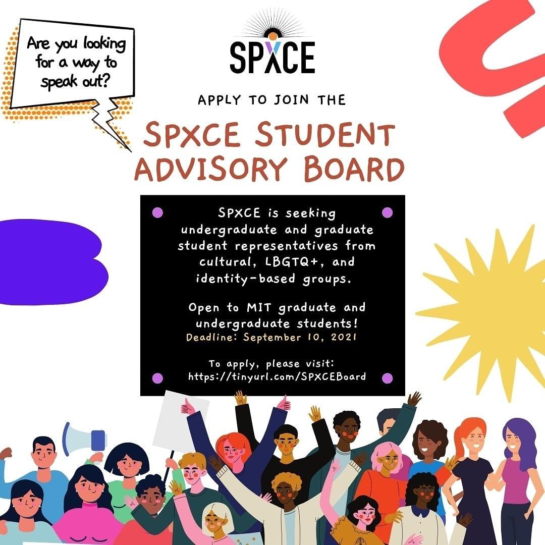 SPXCE Advisory Board Flyer