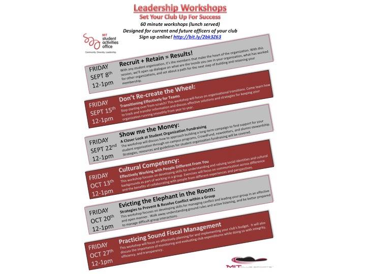 Leadership Workshops