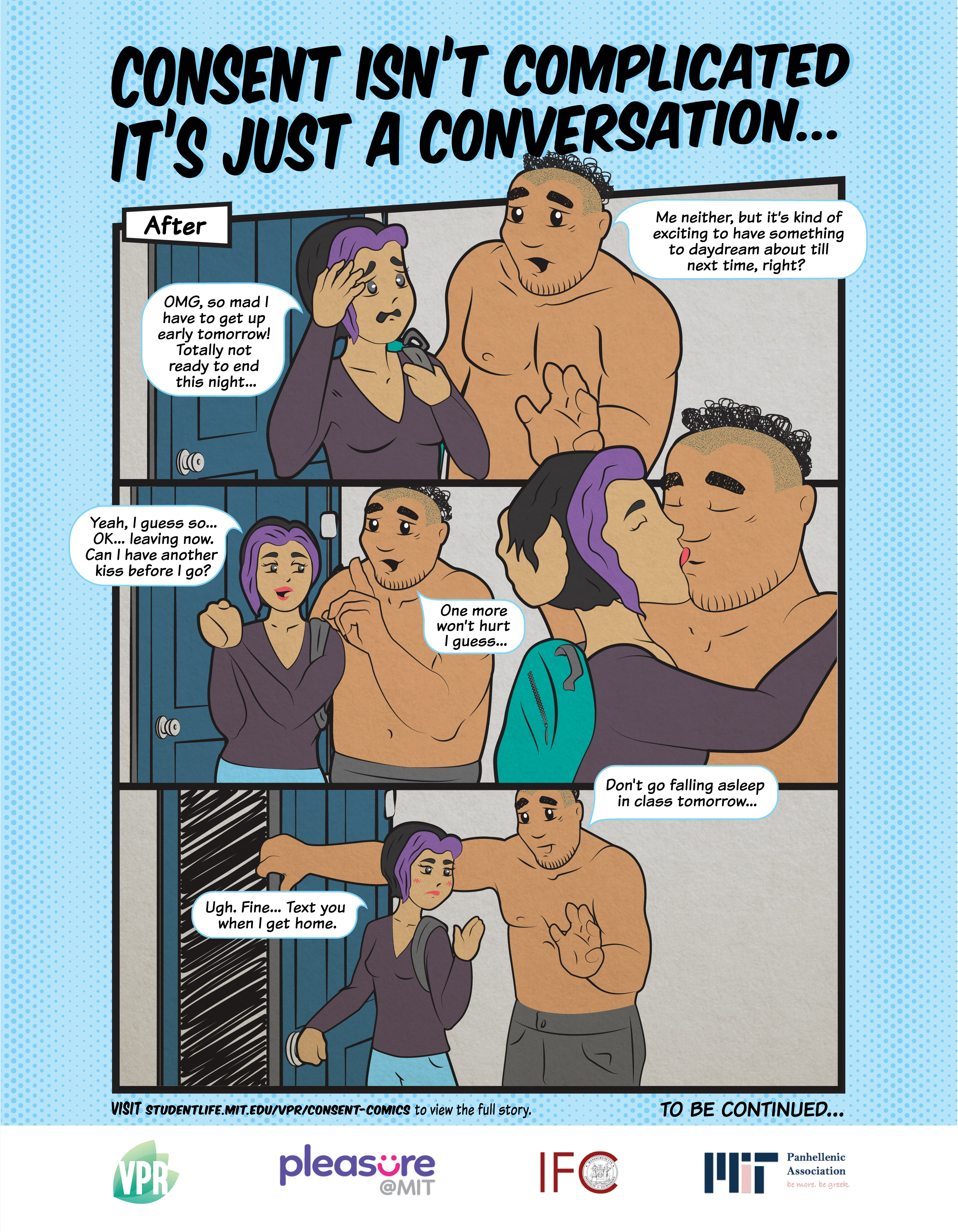 Consent campaign volume 1, poster 3