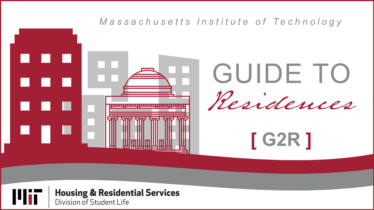 Guide to Residences