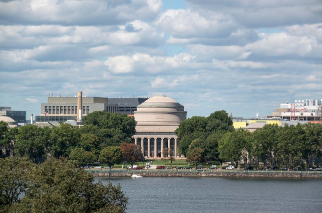 View of MIT campus from Boston.