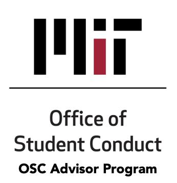 Logo for OSC Advisor Program.