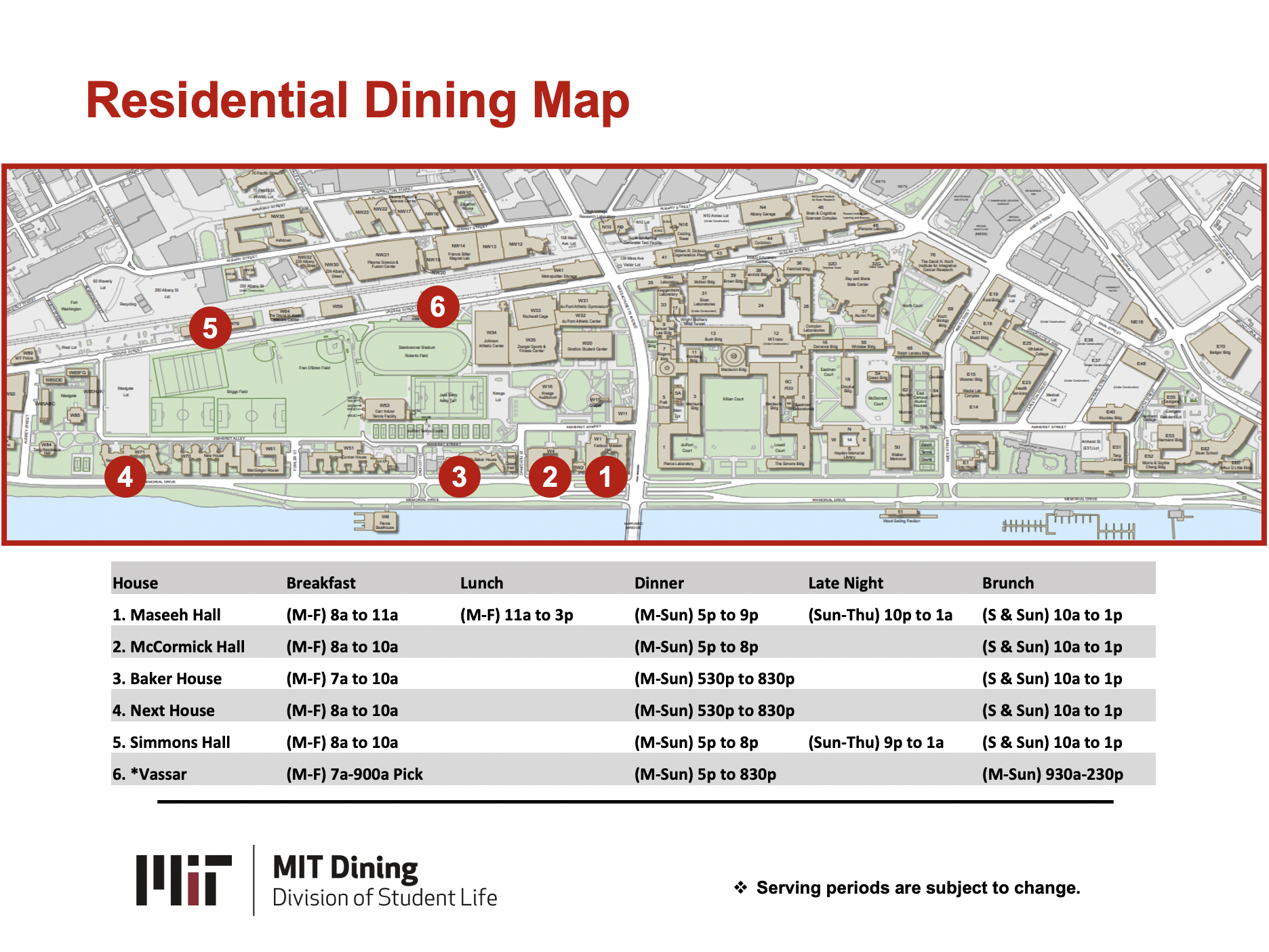 Residential Dining Map CPW 2021