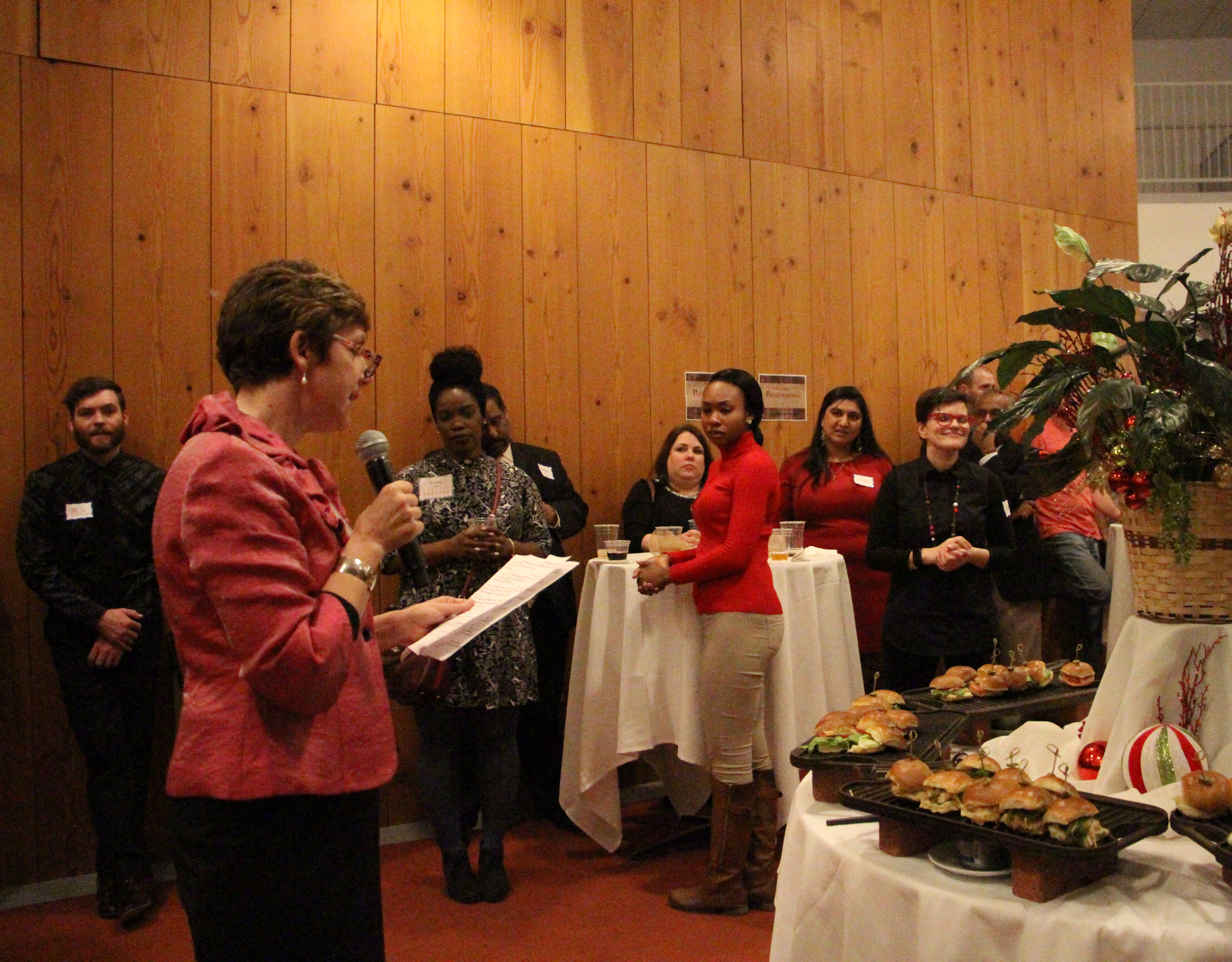 Dean Nelson and the DSL Holiday Party