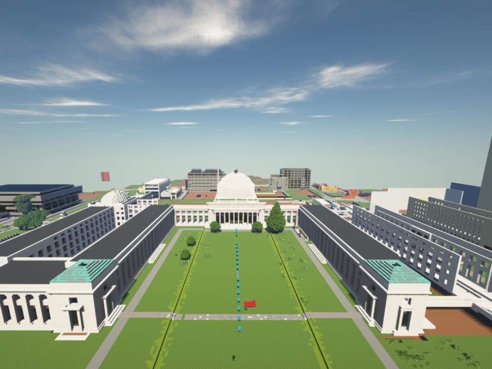 Minecraft Killian Court