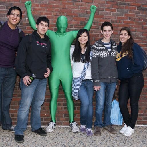 Students at MacGregor House