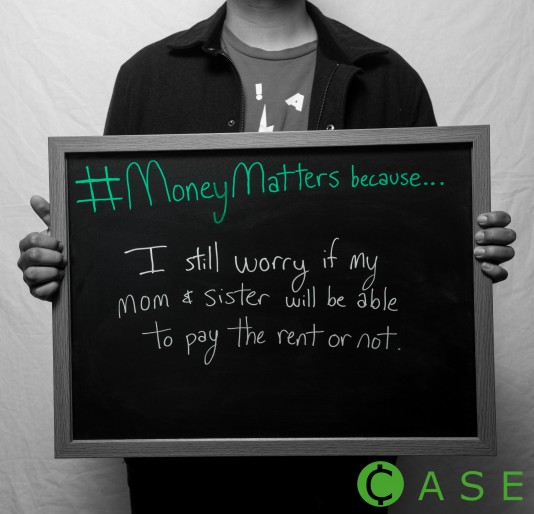 #MoneyMattersbecause