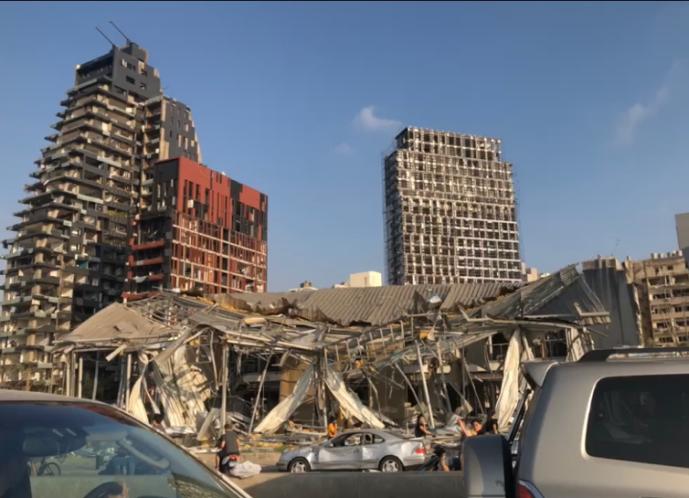 Beirut Destruction