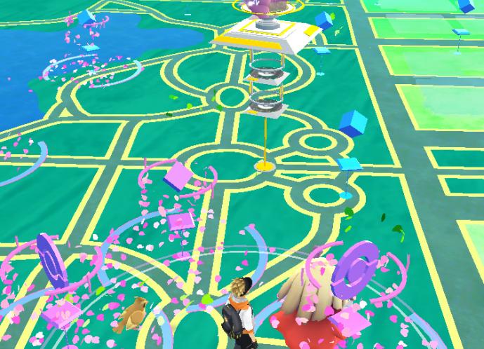 A Pokemon GO screenshot.