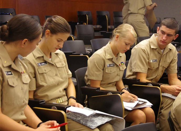 For the Shifflet and McCoy sisters NROTC is a family affair.