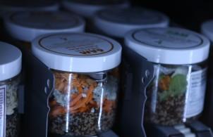6am Health food options inside the Fresh Fridge
