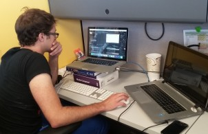 Science writing graduate student Eben Bein spent the summer of 2016 in a community service work-study position at NOVA, the prime-time science television series produced by WGBH Boston. Bein helped develop digital videos and related content for the Gross