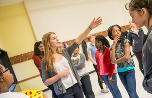 Shine teaches students math through dance