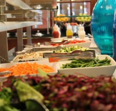 Salad Bar in House Dining