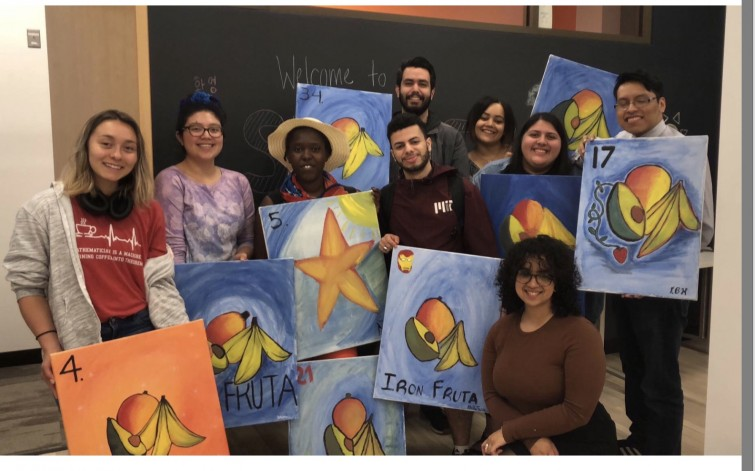 Paint Night at OMP