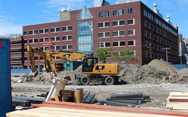 Kendall Square Construction Site