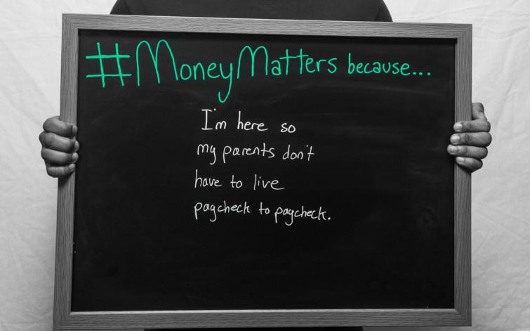 #MoneyMattersbecause 3